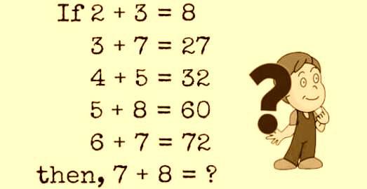 Solve Math Puzzle   Brain Teasers (2408)
